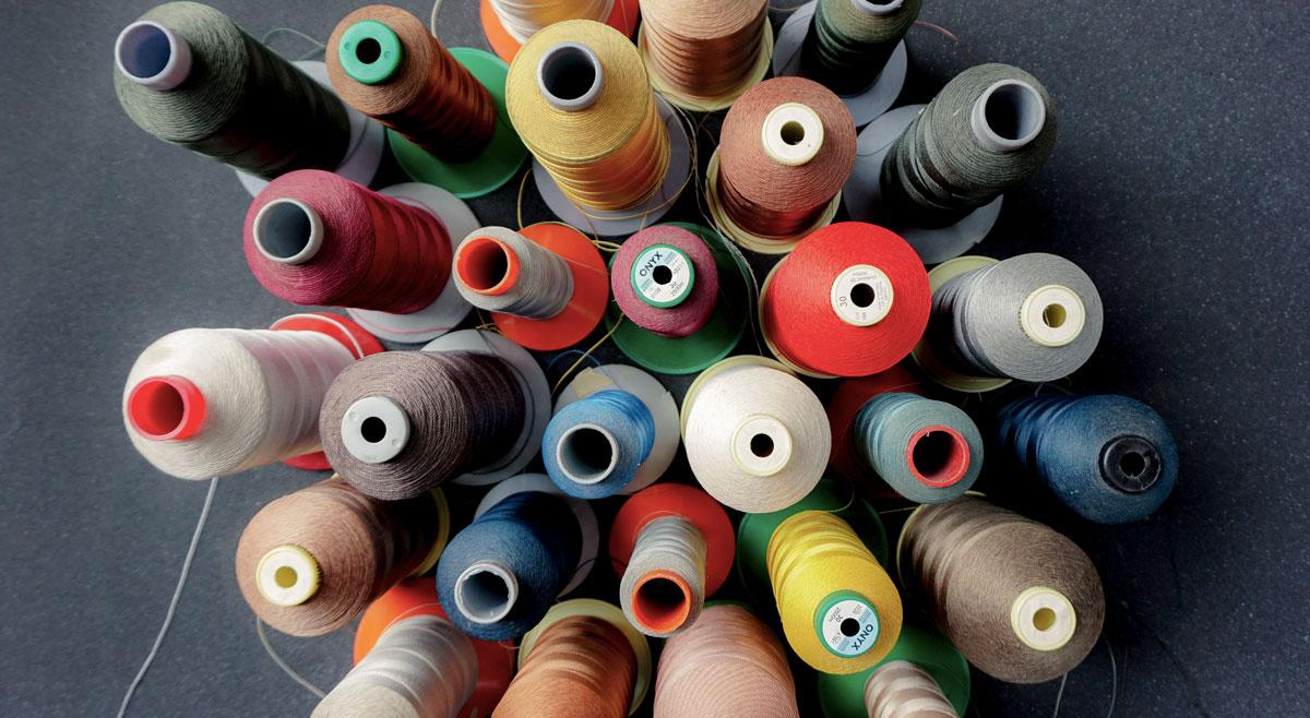 photo de bobines de fils